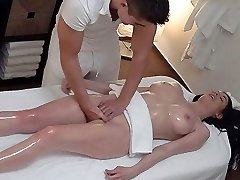 Unexpected Breasts and Pussy Rubdown