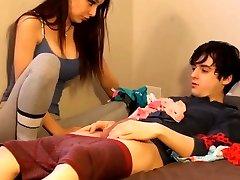 Brother-in-law Fucks His Gorgeous and Sexy Stepsister with Facial
