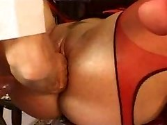 german twat fist and anal fuck