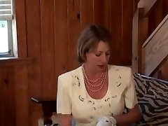 FULLBACK PANTIES - PANTY FUCK - CHURCH Dame IN FLORAL DRESS FUCKED