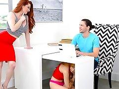 Lolo Punzel & Veronica Vain & Alex Davis in On The Lolo - MomsBangTeens