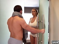A very super-fucking-hot scene in which Julia Ann and her lover have sex in the shower