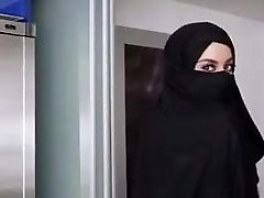 Beautiful female with Hijabe
