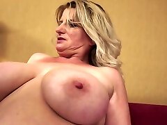Chubby Granny Undresses And Show Fun Bags