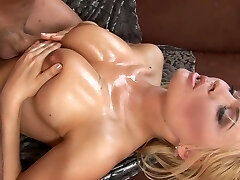 Anastasia licks that stick and does a tit-screwing