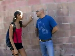 Naughty Cassidy learns how to handle a prick