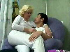 Sex mom and son-in-law