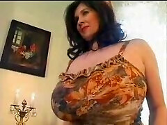 bbw chubby and ginormous saggy tits12