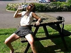 Astrid - Demonstrating at carport