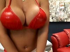 Gigantic boobs big load