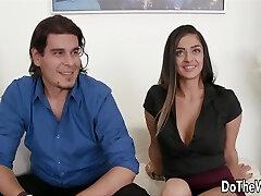 Turkish Persian H0twife Makes Her Husband Watch.!