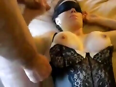 Buxom slutty wife group sex party