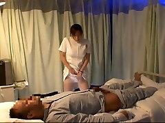Hottest Chinese model Aya Kiriya, Mirei Yokoyama, Emiri Momoka in Exotic Nurse JAV video