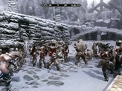 Troll Group Sex Action Part 1
