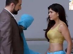Very Sexy Blue Saari Removing n Smooching Very Highly Romantic Sexy