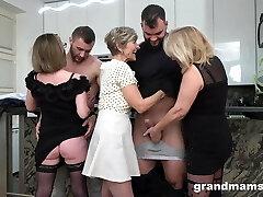 First Ever Granny Intercourse! Cock Fest!