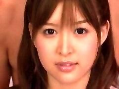 Amazing Japanese model Tsukasa Aoi in Incredible Stocking, Anal JAV scene