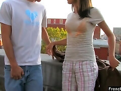 Ardent nympho Dolly P gets her tight puss pounded on the roof