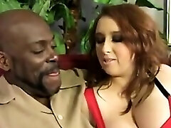 Giant Busty Redhead Hungers For A BBC