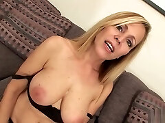 Blonde Mommy Is Smashed And Covered