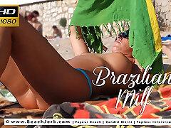 Brazilian Milf - BeachJerk