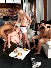 The fat girls are talented and love to make guys feel good with their mouths and pussies