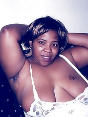 Sandra is a sexy black woman who likes to get wild on the couch. Cum watch her plop out those...