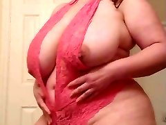 BBW Trys On Lingerie 2