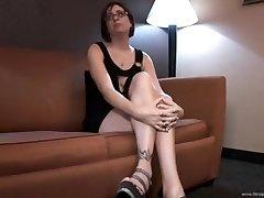 Milf and Male Stripper Stiffy (private session)