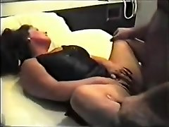 Massive wife cuckolding her man with a kinky ginormous dick stranger
