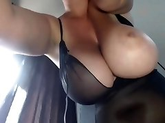 Mommy's Big Bosoms - Smoking BBW