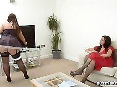 Denise Davies Tempts Maid Dani Amour