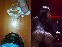 Nicki Minaj vs My monstrous cock