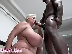 Claudia Marie Hit Down And Screwed Rough By BBC