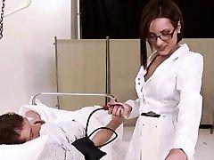 Sexy German Cougar Nurse