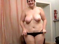 Brunette Amateur-BBW-Cougar Anal