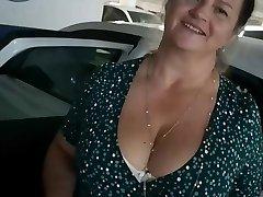 Hidden Cam timide au parkong