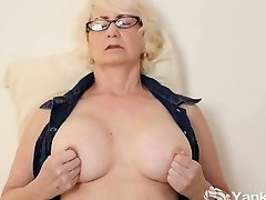 Mature Eden Tugging Her Pussy