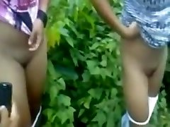 Nubiles Girls Obliged To Strip At Outdoor By Local Boys