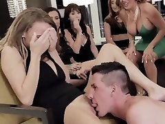 MYLF - Super-steamy Milfs Fucked By Male Strippers