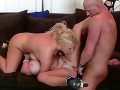 Horny boy fucks two kinky babes
