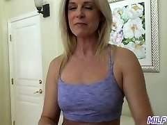 MILFTRIP Step Mommy India Summer Welcomes Step Son Home