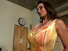 Best pornstars Persia Monir and Bonnie Skye in hottest dark haired, masturbation hard-core scene