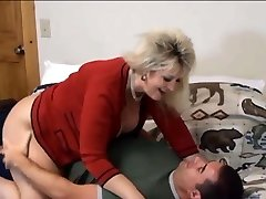 Pummeling Mother In Law Candee In Pantyhose