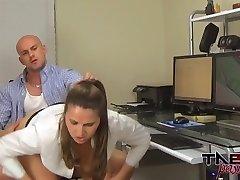 Cougar Spys on Son in Show Hidden Cam