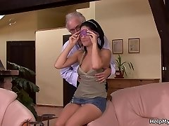 Cheating surprise for young wife