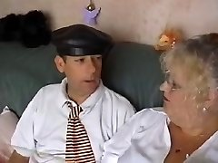 Plumper Granny School Mistress