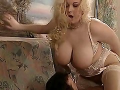 British BBW Kirsten Halborg anal invasion fucked face nutted