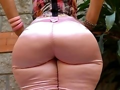 Milf Mature in tight denim big ass butt mom phat booty