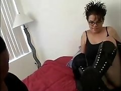 Obese Goth Schoolgirl